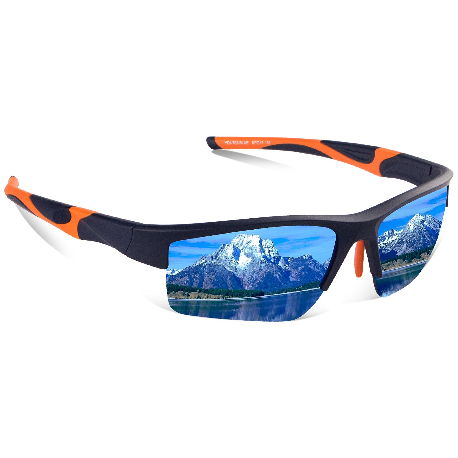 Avoalre TAC Polarized Sports Floating Sunglasses, 100% UV Protection Impact Resistance Sports Glasses for Men Women Driving Running Climbing Outdoor Activities Unbreakable Lightweight Tr90 Frame by Avoalre