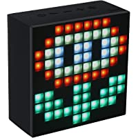 Divoom Aurabox Bluetooth 4.0 Smart LED Speaker with APP Control for Pixel Art Creation (Black)