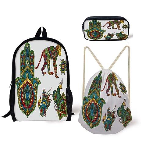 af82d255f638 Amazon.com  iPrint Schoolbag