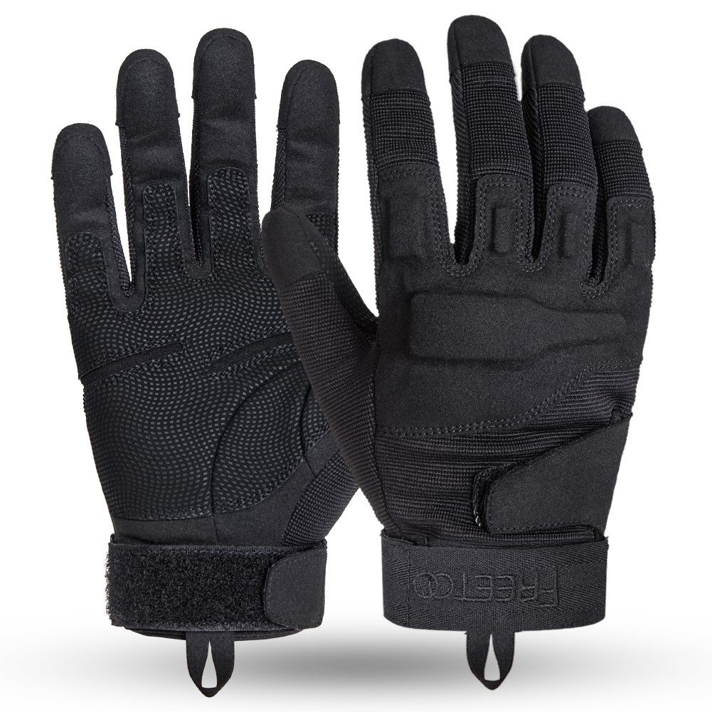 Black leather combat gloves - Amazon Com Tprance Tactical Gloves For Men Outdoor Sport Driving M L Xl Sports Outdoors