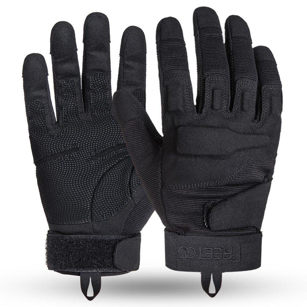 TPRANCE Tactical Gloves for Men, Full Finger Hard Knuckle Gloves for Outdoor Sports by TPRANCE (Image #3)