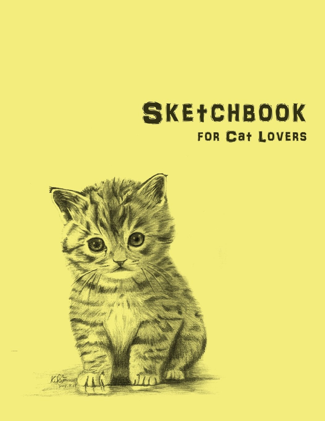"""Download My Sketchbook for Cat Lovers: 100 Pages ( 8.5""""x11"""" ) Blank Paper for Drawing, Doodling or Sketching PDF"""