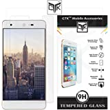 TheGiftKart™ Ultra Clear Premium HD Tempered Glass Screen Protector with Rounded Edges (Precise Cut-Outs for Front Camera & Sensor) for Infocus EPIC 1