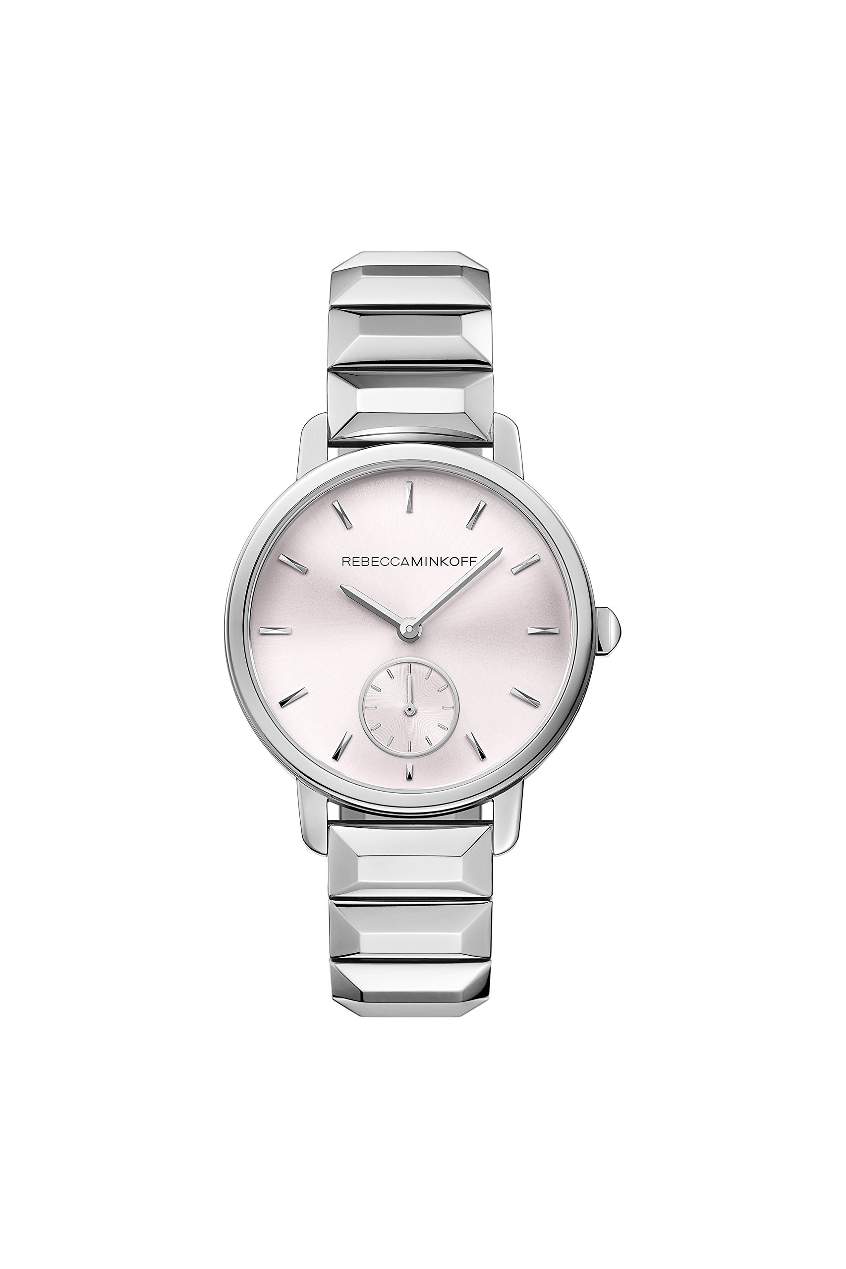 Rebecca Minkoff BFFL 2200032 Silver Tone Bracelet Watch