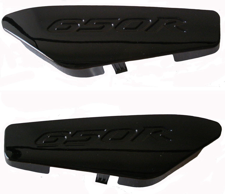 Body Work 2008-2011 Kawasaki Ninja ER650 Grab Rail Tail Cover Caps ...