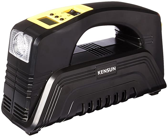 Kensun AC/DC Rapid Performance Portable Air Compressor Tire Inflator