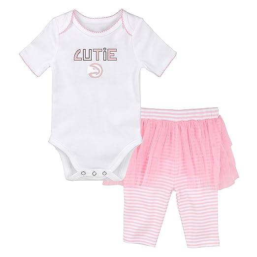 9c932b1f90f Amazon.com : Outerstuff NBA Newborn NBA Newborn Cutie Dancer Tutu Legging  Set : Clothing