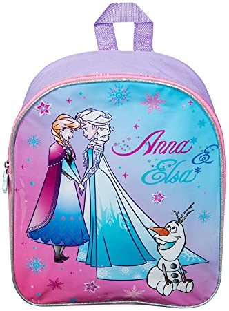 72c938b0e41 Disney Frozen School Bag for Girl Kids Travel Bag Anna Elsa Olaf Junior Girls  Backpack Childrens