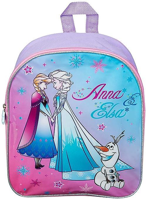 16d386f591 Zaino Frozen Elementari Cartella Scolastica Principesse Disney Elsa Anna  Olaf Zainetto Asilo Bambina Cartelle Scuola Bimba