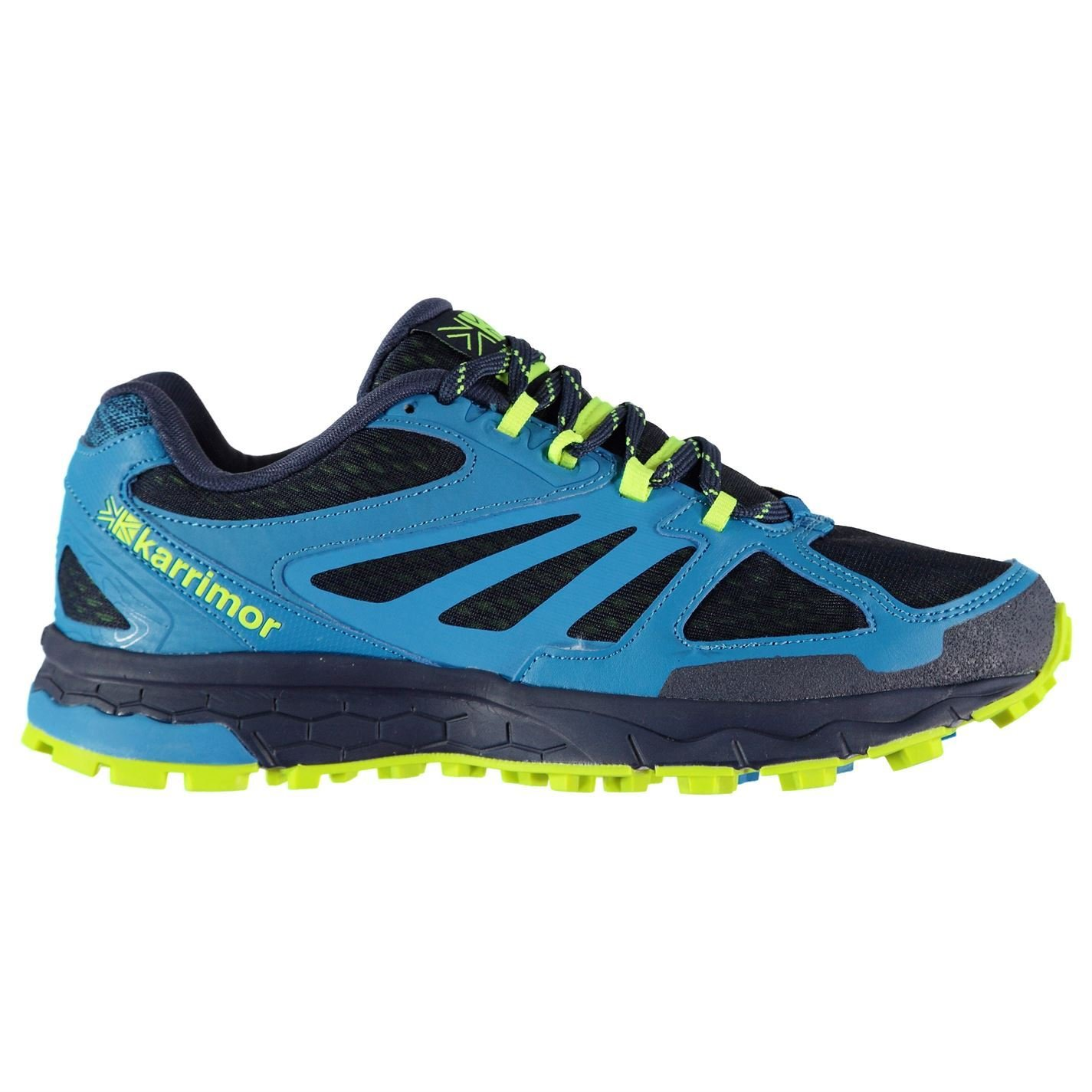 Original schuhe Karrimor Tempo 5 Trail Laufschuhe Herren blau Fitness Joggen Turnschuhe Turnschuhe