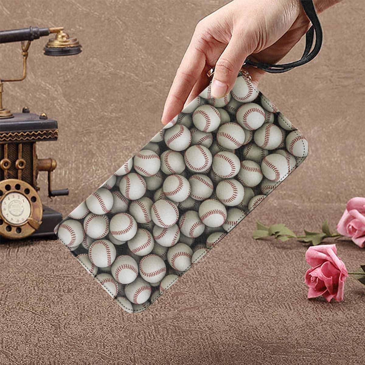 InterestPrint Womens a Big Ball Clutch Purse Card Holder Organizer Ladies Purse