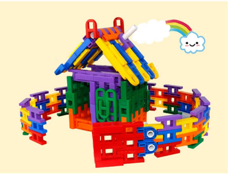 MEI Juguetes Para Niños Bloques De Construcción Para Niños Rompecabezas Educación Temprana Plug Encanto Creativo Bloques De Construcción,436