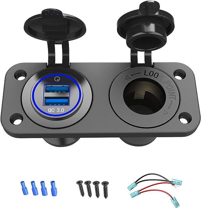 Qc 3 0 Usb Steckdose Kfz 12v 24v Quick Charge 3 0 Auto Elektronik