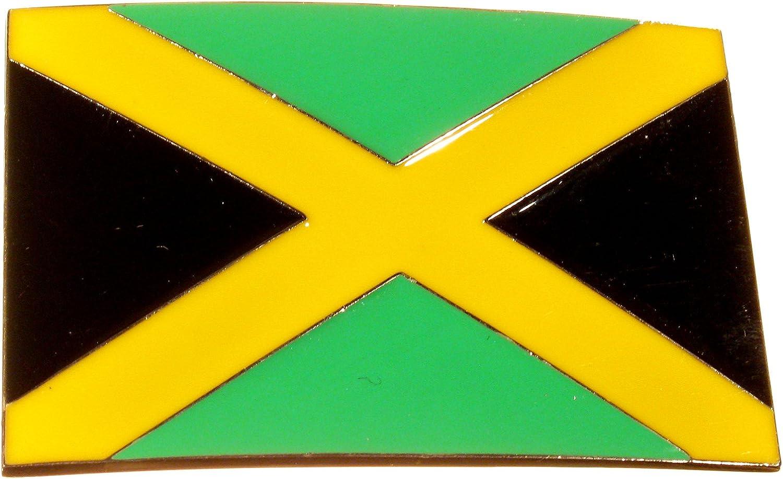 Piratenladen Hebilla Bandera Nacional Jamaica, Rasta ...