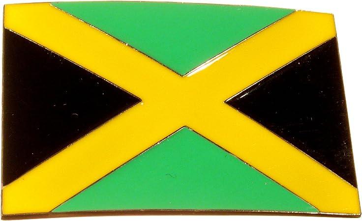 Piratenladen Hebilla Bandera Nacional Jamaica, Rasta, Reggae ...