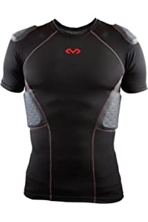 cc0a864f400 Mcdavid Rival Pro Hex Padded Football Shirt, 5-Pad Integrated Protection  for Shoulders,