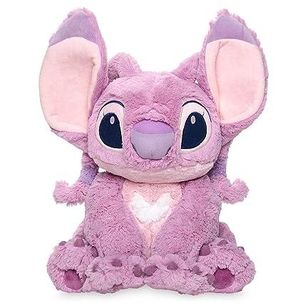 Official Disney Lilo And Stitch Medium Pink Angel Soft Plush Toy  Centimeter