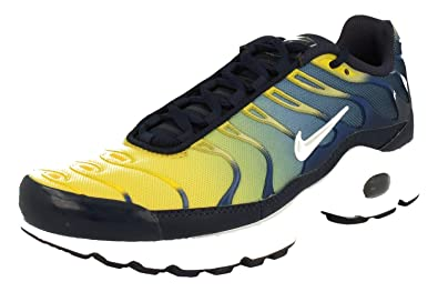 0c498c12659b0 Nike Air Max Plus GS TN Tuned 1 Trainers 655020 Sneakers Chaussures (UK 4.5  us