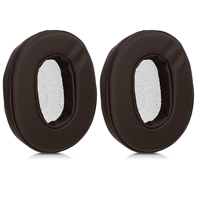 kwmobile 2X Ohrpolster für Sony MDR-1A Kopfhörer - Kunstleder Ersatz Ohr Polster für Sony Overear Headphones