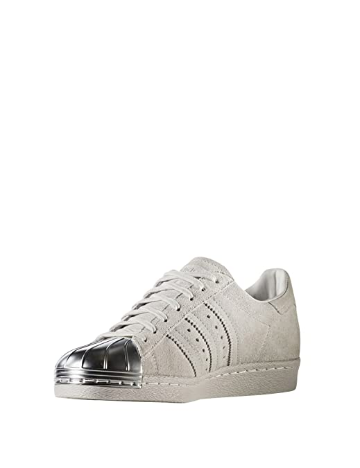 adidas W Superstar 80S Metal Toe W adidas Chaussures de Fitness Femme Rose b83baf