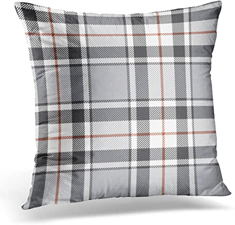 Emvency Throw Pillow Cover Floor Gray