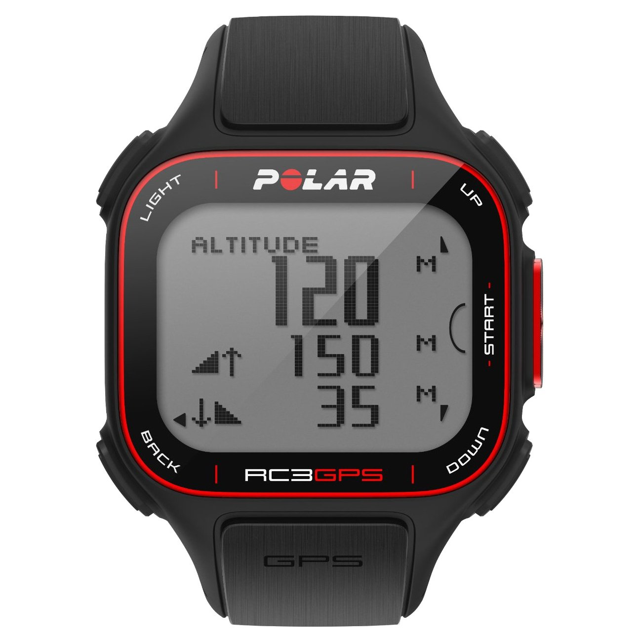90048169 RC3 w/ GPS Includes Altitude Feature Polar Heart Rate Monitor