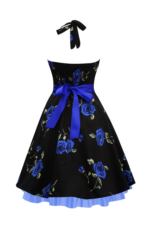 BlackButterfly Rhya Vestido Vintage Infinity Años 50 (Grandes ...