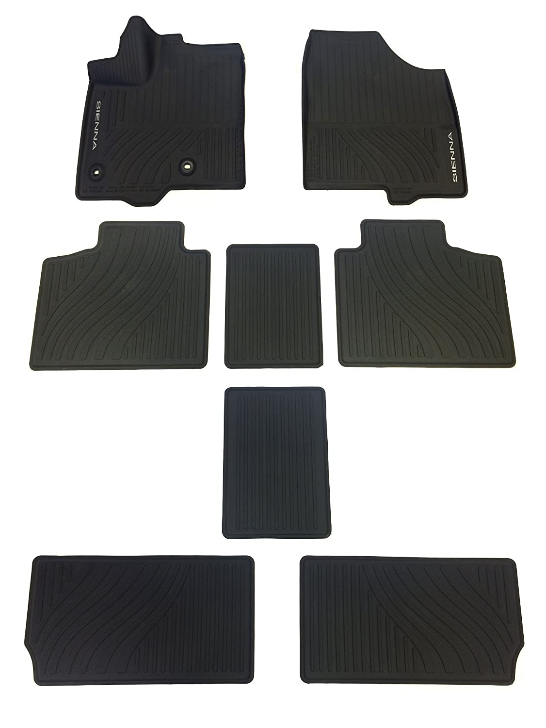 Factory Floor Mats For 2017 Sienna To Go In My 2011 Van