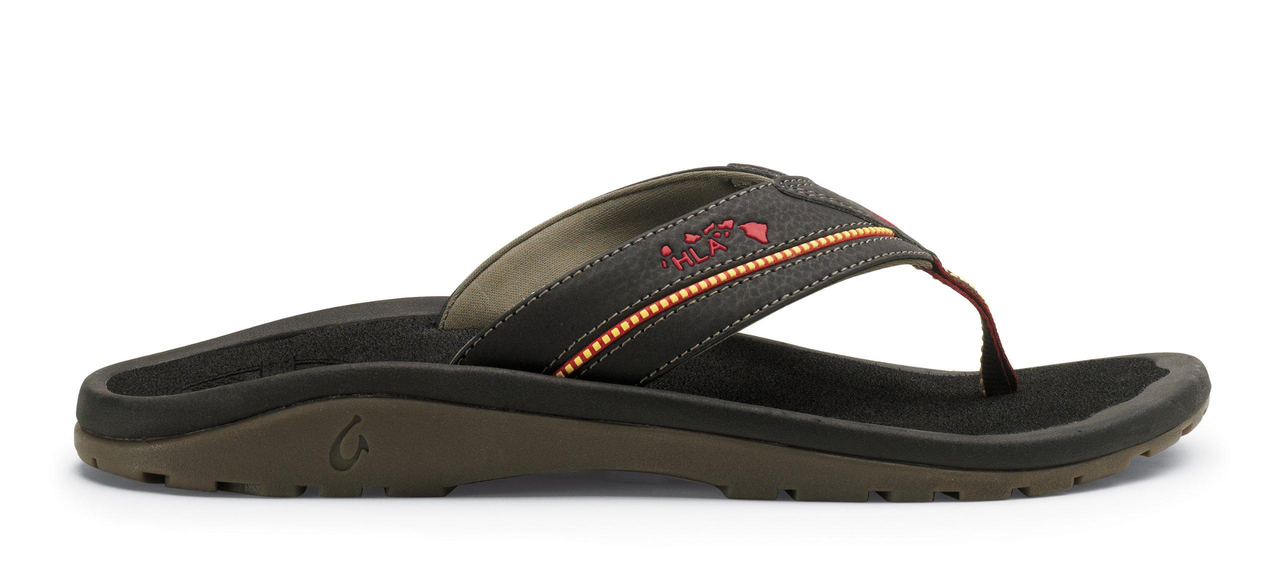 OLUKAI Kia'I II Sandal - Men's Black/Black 11