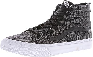 Vans SK8 Hi Cuero negro