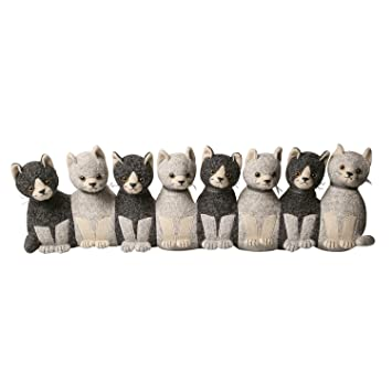 ART & ARTIFACT Litter of Kittens Draft Stopper - Door and