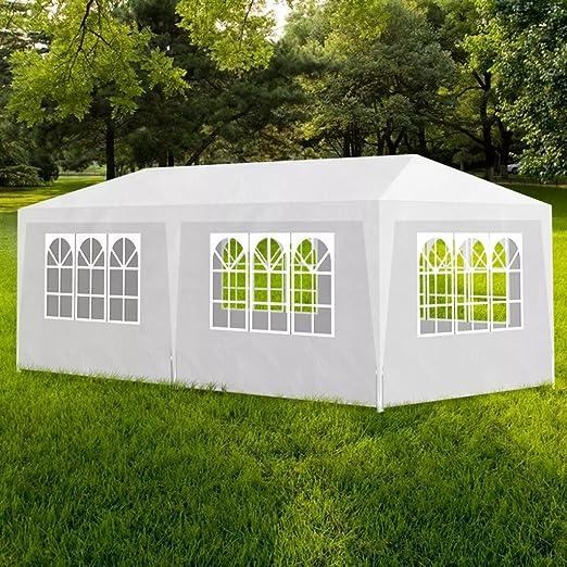 dondans - Cenador de jardín para casa y jardín, para Exteriores, Estructura Exterior, toldo y cobertizo, Carpa