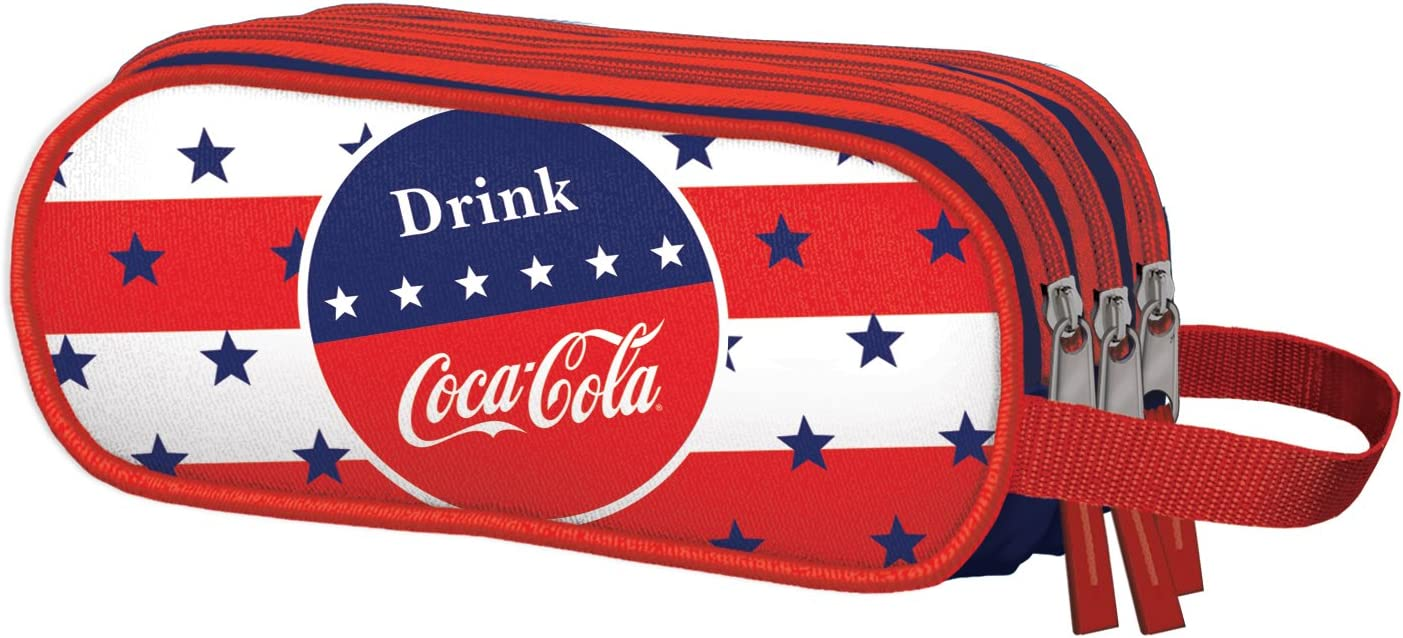 Dohe Coca-Cola Stars - Portatodo triple: Amazon.es: Equipaje