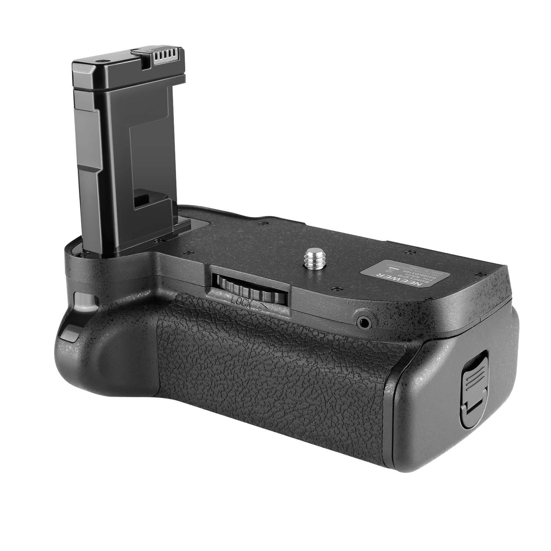 Empu/ñadura de Bater/ía para C/ámara Nikon D5100//5200 DSLR Neewer Pro Battery Grip