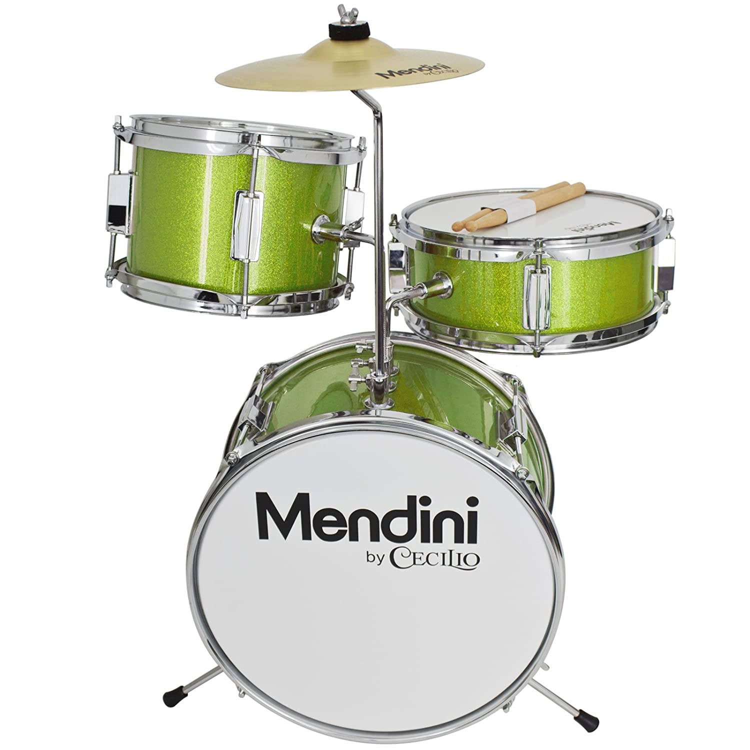 Mendini By Cecilio 13 Inch 3 Piece Kids Junior Drum Set With