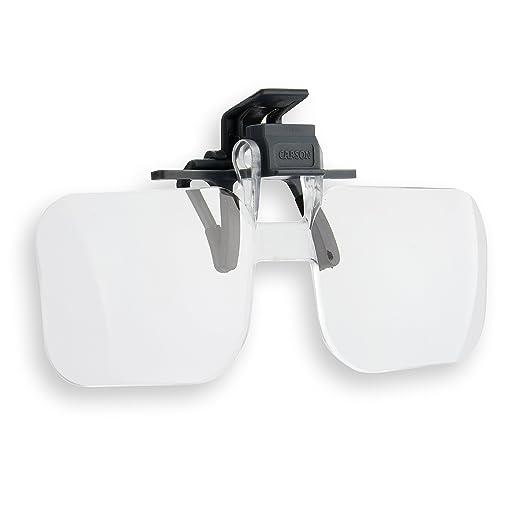 59 opinioni per Carson- Occhiali con lenti d'ingrandimento 1.5x, +2.25 diottrie