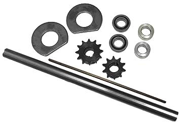 Jackshaft Kit for Mini-Bike or Go-Kart, Timing Parts