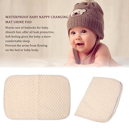 Guguogo cómodo bebé recién nacido pañales cambiador Pad algodón ...