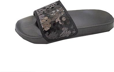 Hot Trendz Women's Flip Flop Sequin