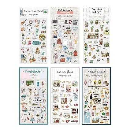 Amazon.com: MultiBey Original Agenda Decorative Stickers ...