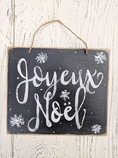 susie85electra joyeux noel french merry christmas christmas decor holiday signs whole sale christmas wall decor snowflakes
