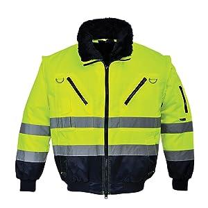 Portwest PJ50 - Hi-Vis chaqueta experimental, color, talla Large