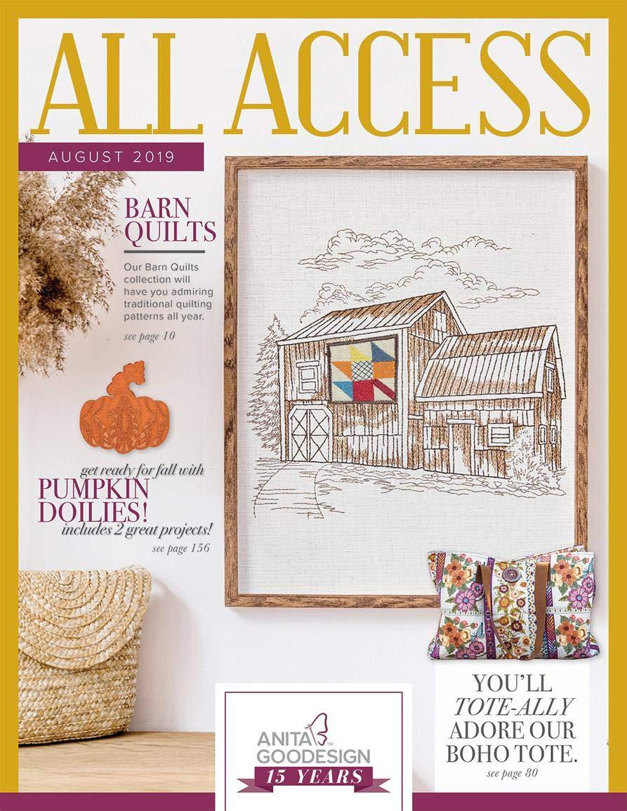 Barn Quilts Anita Goodesign Embroidery Design Machine CD