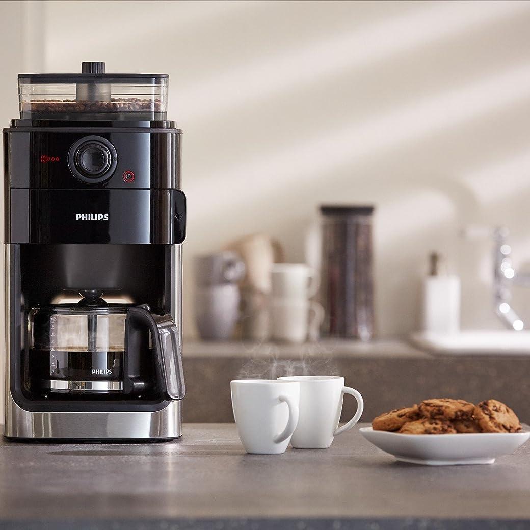 Philips HD7767/00 Grind und Brew Filter - Cafetera de plástico