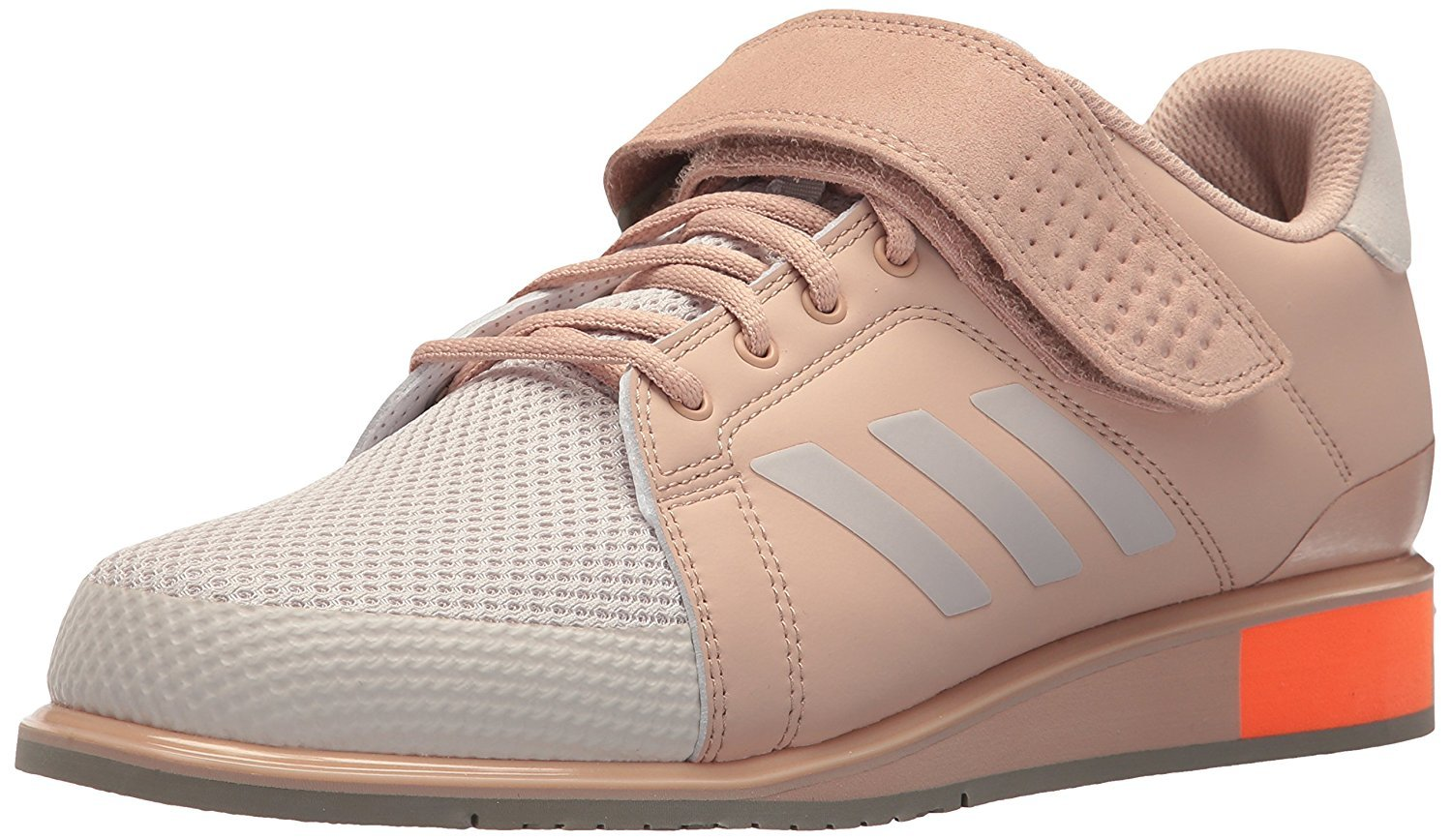 adidas Men's Power Perfect III. Cross Trainer Chalk ash Pearl, 16 M US by adidas