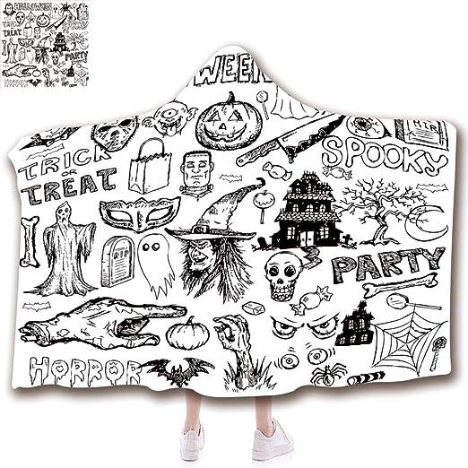 Manta de Moda de Porcelana Antigua, decoración, Manta con Capucha ...