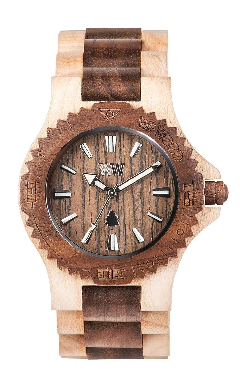[ウィウッド]WEWOOD 腕時計 ウッド/木製 DATE BEIGE NUT 9818070 メンズ 【正規輸入品】 B00D2PUIEI