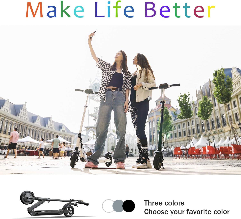 MARKBOARD Elektroscooter E-Scooter Klappbar Erwachsene Bis 30 km//h E Roller Mit Vorderen und Hinteren R/ückleuchten 350 Watt Motor Cityroller 7.5Ah Akku