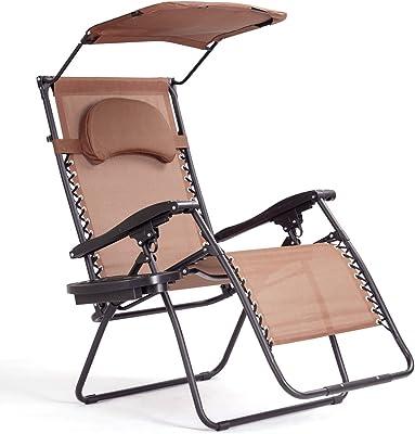 Amazon Com Sunnydaze Outdoor Xl Zero Gravity Lounge
