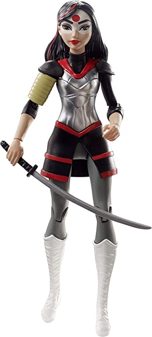 DC Super Hero Girls DCG28 Mattel - Muñeca Katana: Amazon.es ...
